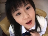 Konomi Futaba Asian girl is lovely in her uniform