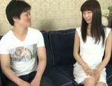 Arousing Minami Hirahara pleases with amazing blowjob