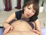 Lusty Asian milf in sexy linerie in a hot pov Asian blowjob scene picture 34