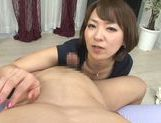 Lusty Asian milf in sexy linerie in a hot pov Asian blowjob scene picture 36