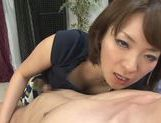 Lusty Asian milf in sexy linerie in a hot pov Asian blowjob scene picture 39