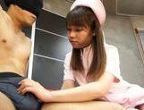 Naughty Teen Nurse Ria Mikotori Knows How To Stroke Cock