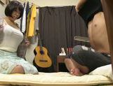Hot Japanese milf with big tits finds a cock ready for her picture 11