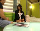 Attractive Japanese schoolgirl likes to get her pussy pleased picture 14