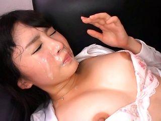 Satomi Nomiya Asian secretary is into rough group action