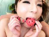 Amu Kosaka Pretty Asian schoolgirl gives good head.