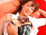 Misaki Shiraishi Lovely Asian schoolgirl picture 12