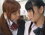 Rumi Kamida and Sayaka Otonashi amazing Japanese schoolgirls picture 14