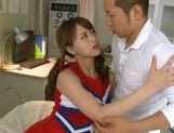Akiho Yoshizawa gets it deep and hard and a facial picture 12