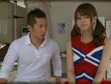 Akiho Yoshizawa gets it deep and hard and a facial