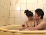 After a warm bath, Rei Mizuna feels like playing with her pussy picture 11