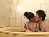 After a warm bath, Rei Mizuna feels like playing with her pussy picture 12