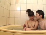 After a warm bath, Rei Mizuna feels like playing with her pussy picture 14