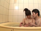 After a warm bath, Rei Mizuna feels like playing with her pussy picture 15