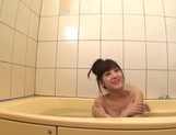 After a warm bath, Rei Mizuna feels like playing with her pussy