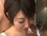 Amazing Asian teen girl Makoto Yuuki in a crazy threesome action