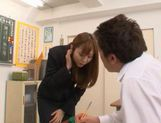 Yuma Asami Hot Asian teacher with a hot body picture 1