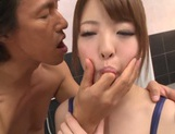 Asian girl with amazing bubbles Iroha Sagara gets fucked picture 3