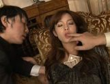 Mei Haruka Japanese babe is fucked by two guys picture 11