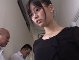 Mischievous Asian cock lover Tsukasa Aoi deepthroats hot guys picture 8