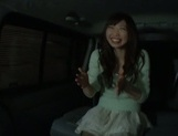 Frisky Japanese milf offer an excellent blowjob to an old sexy guy