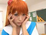 Yuu Namiki Lovely Japanese model in cosplay picture 2