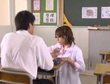 Horny Japanese Himari Wakana loves having wild fuck scene