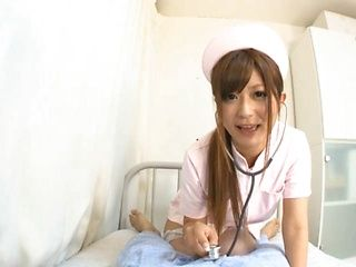 Yurika Miyaji is a wild nurse, who wants rough sex