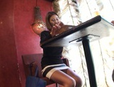 Akari Asahina Asian babe enjoys lunch and a fucking in pov public sex picture 7