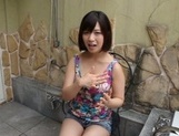 Wakaba Onoue naughty Race queen in pov blowjob picture 13