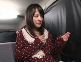Young Mikako Abe receives large pussy toys picture 11