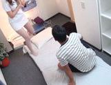 Japanese nurse goes natsy at work along horny patient