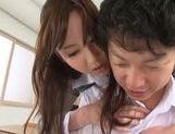 Lovely Yui Tatsumi teacher likes it deep and fast picture 12