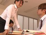 Yui Ooba naughty Asian teacher is a kinky chick picture 11