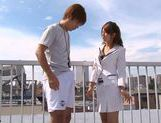 Nami Hoshino is a hot Asian female teacher picture 6