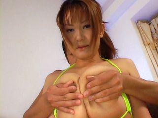 Chichi Asada Asian beauty is a busty gal