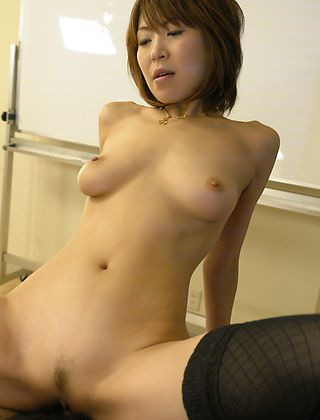 Jun Kusanagi Lovely Asian office girl gets fucked in the office by her boss