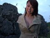 Reiko Nakamori Asian babe enjoys solo exposure picture 5