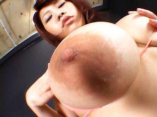 Kumiko Hayama and Rika Momoi Huge Asian knockers
