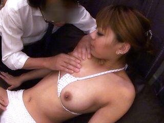 Rin Japanese model has lovely tits