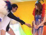 Akiho Yoshizawa amazing Japanese babe in cosplay sex