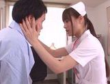 Skinny nurse Ai Nikaidou pleases horny male