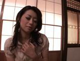 Maki Houjo Japanese beauty is a lovely housewife picture 13
