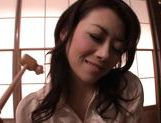 Maki Houjo Japanese beauty is a lovely housewife picture 14