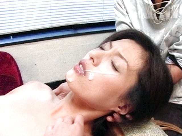 Hot Asian milf is a sexy gal in a threesome