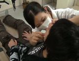 Hot Asian female dentist gets seduced and screwed hard picture 13