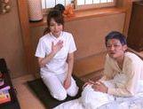 Akiho Yoshizawa Juicy Asian model is a wild nurse picture 11