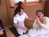 Akiho Yoshizawa Juicy Asian model is a wild nurse picture 13