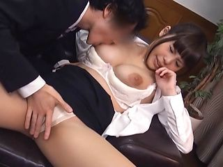 Asian office lady gets position 69 and more at work