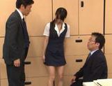 Hikaru Ayuhara Japanese doll is hot and cute sucking cock picture 6
